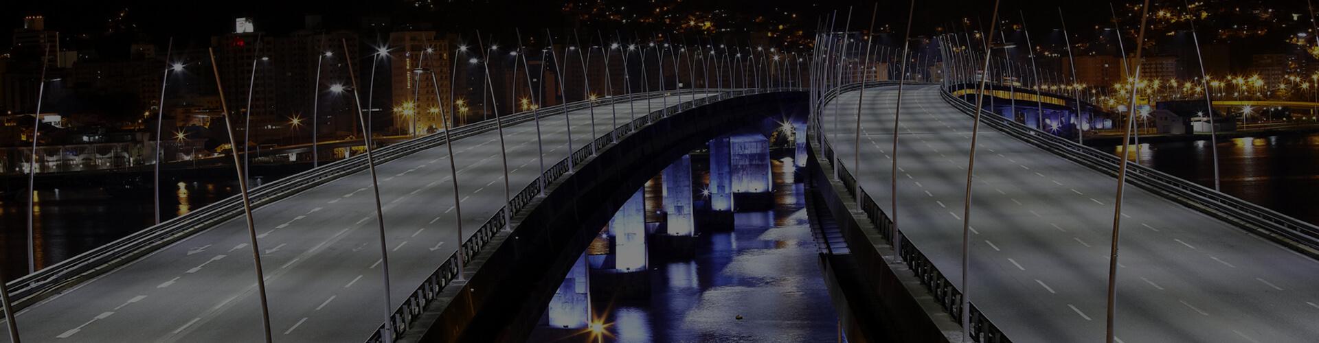 FLORIANÓPOLIS - LED - PONTES - FOT. ADRIANO AMARO