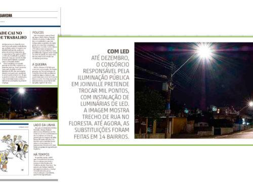 Joinville ganha nova iluminação