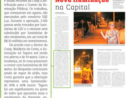 Nova iluminação de Florianópolis ganha destaque na mídia