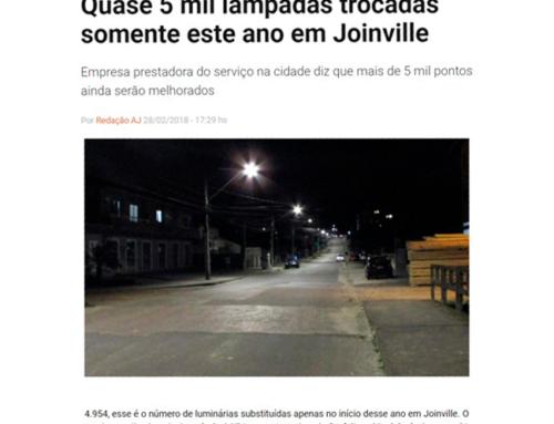 O portal Agora Joinville traz informações sobre as obras realizadas no início desse ano em Joinville