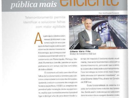 Revista O Empresário aborda cidades inteligentes com entrevista da SQE LUZ