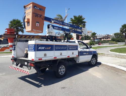Furto de cabos prejudica iluminação pública em Florianópolis