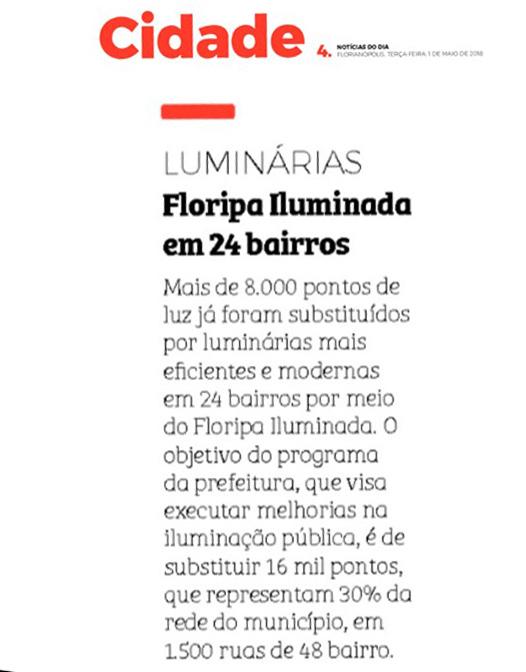 01.05.2018 - Notícias do Dia - Cidade