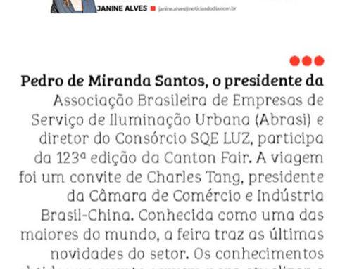 A busca por inovação do consórcio SQE LUZ na coluna de Janine Alves, no Notícias do Dia