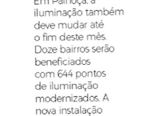 Trabalho desenvolvido pela SQE LUZ em Palhoça é destaque no jornal Notícias do Dia