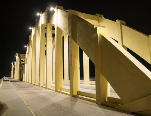 Iluminação da Ponte dos Arcos em Blumenau