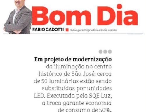 Centro Histórico de São José recebe nova iluminação e é destaque no Notícias do Dia
