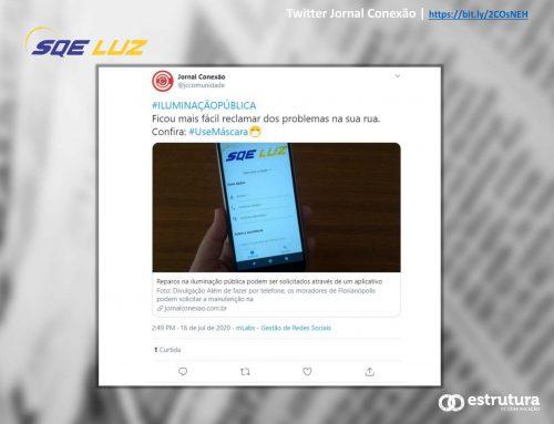 App para serviços na iluminação pública de Florianópolis é destacado pelo Jornal Conexão.