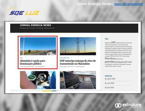 Jornal Energia News aborda uso de cabos de alumínio como alternativa para o cobre.